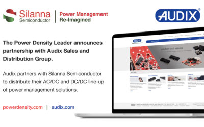 Silanna Semiconductor Appoints Asian Electronics Distributor Audix Group